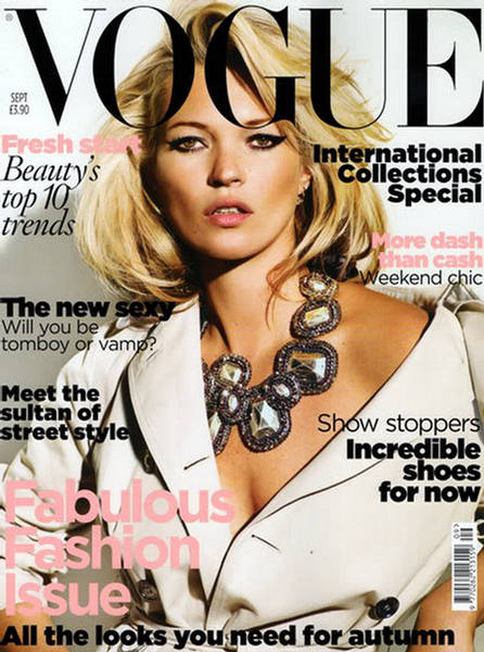 kate moss has been made vogue s commissioning fashion
